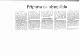 Olympiáda z pohledu českého jazyka
