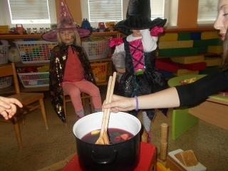 Čarodějnické dopoledne ve školce
