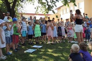Rozloučení s předškoláky - Zahradní slavnost