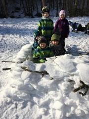 Stavíme ze sněhu