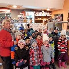 Návštěva v Dražické pekárně cukrárně