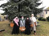 Vánoční putování s blahopřáním