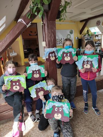 Ve školní družině se probudili medvědi